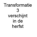 Transformatie 2020-03 is nog niet beschikbaar