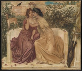 Simeon Solomon, Sappho en Erina
