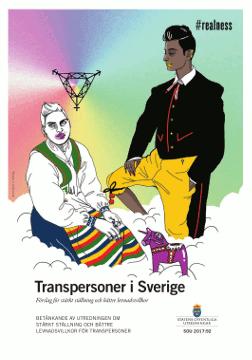 Titelpagina rapport Transpersoner i Sverige