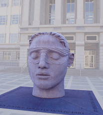 Justice by Diana Moore, Regeringsgebouw Newark, New Yersey, USA