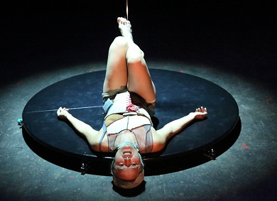 Foto voorstelling 'Womb of fire'