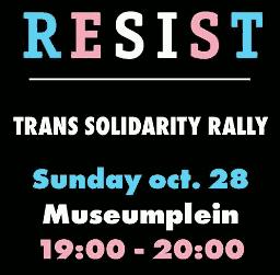 Oproep solidariteits bijeenkomst 28 oktober 2018 - 19-20 uur