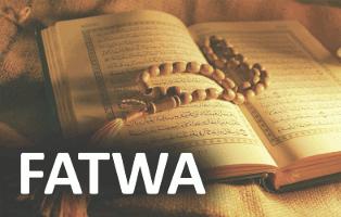 Afbeelding Koran met de tekst Fatwa
