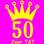 Logo 50 jaar T&T